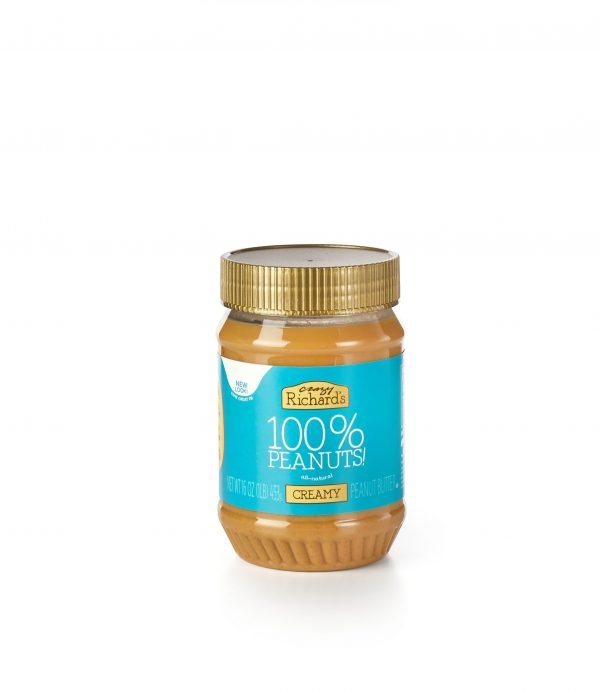 Peanut butter is a heart healthy low sodium snack food - crazy richards - order a heart healthy low sodium gift basket online today