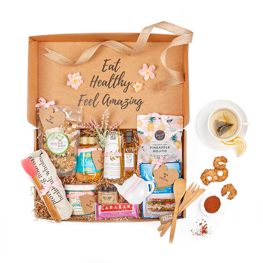 cancer care gift baskets - healthy snacks - order a gift basket online today