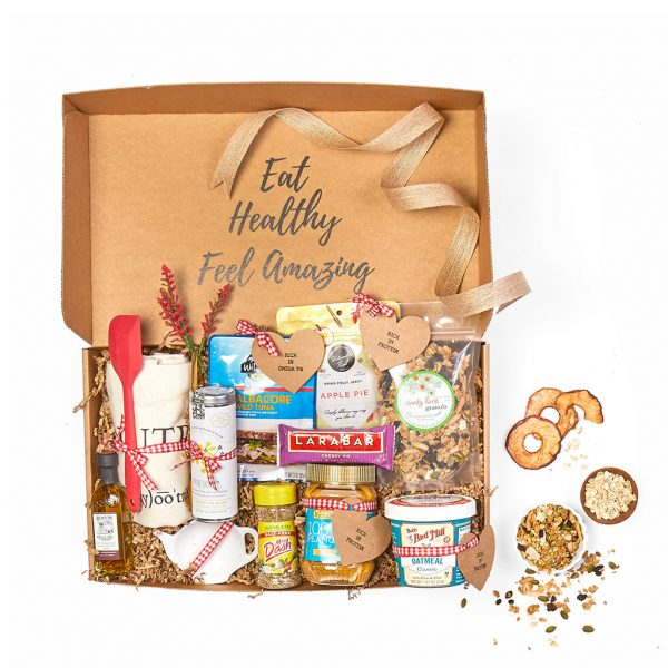 heart healthy gift box with low sodium snacks - gift basket - order your gift basket online today