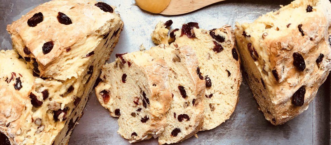 Healthy Irish Soda Bread 1 scaled