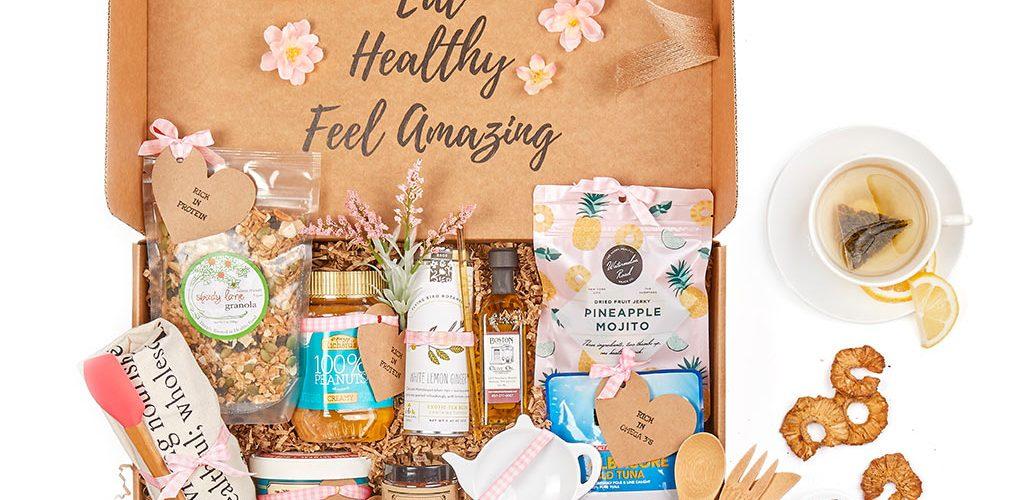 cancer care gift baskets - healthy snacks - order a gift basket online today